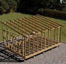 Byggstommar i Mönsterås Attefallsstomme Funkis 25