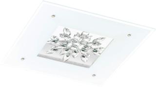 Plafond Eglo Benalua Led 24W Vit/Kristal 24V