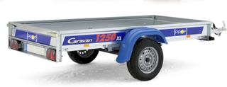 Släpvagn Prof Caravan 1250 XL