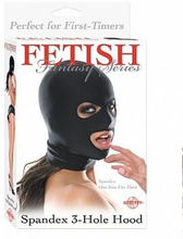 Fetish Fantasy - Spandex 3-hole Hood