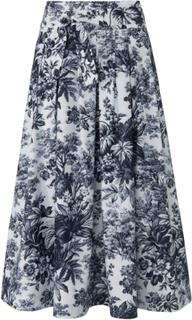 Kjol i trendig midilängd från Windsor blå