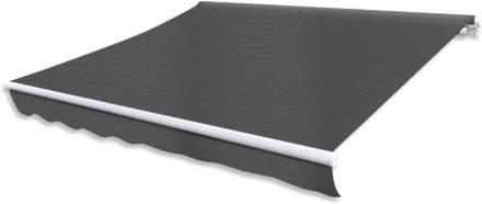 vidaXL Markis manuellt infällbar 300 cm antracit