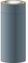 Skorstensmodul Nsp Helsio 150 Grå , 50m