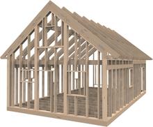 Byggstommar i Mönsterås Fritidshusstomme 60