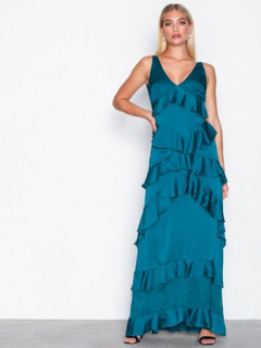 Y.A.S Yasgaya S/L Dress - Das Maxiklänningar