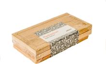 Planksteksbrädor med underlägg