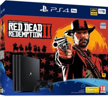 Playstation 4 Pro - 1 TB CUH 7200 series (Red Dead Redemption 2 Bundle)