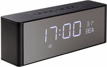 eStore LP-C06 Trådlös Skrivbordshögtalare med Klocka