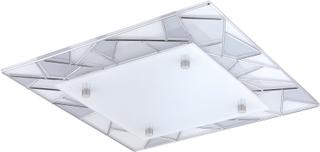 Plafond Eglo Pancento 1 Led 9,7W 34X34cm Satin/Krom