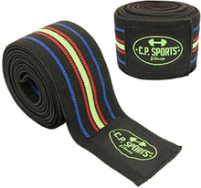 Knee Wraps, Black/Blue/Red/Yellow, 2,5 m