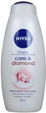 Nivea Care & Diamond Shower Gel 750 ml