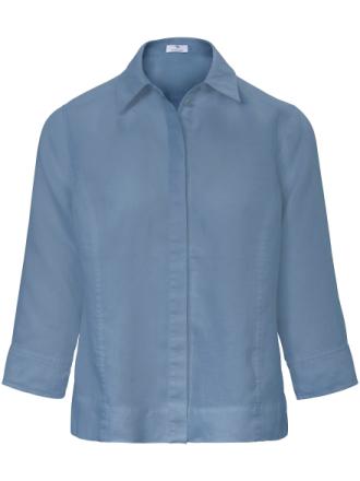 Blus i 100% linne 3/4-lång ärm från Peter Hahn denim