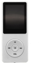 Mp3-spelare Med 8gb Minne - Vit Vit