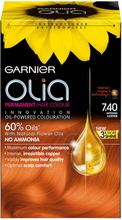 Olia Permanent Hair Colour 7.40 Intense Copper -