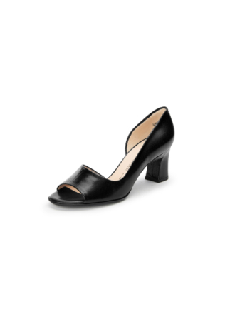 Peeptoe-pumps Fra Peter Kaiser sort