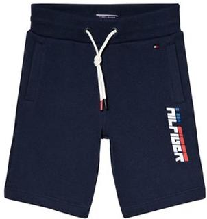Tommy Hilfiger Ame Hilfiger Side Branding Shorts Marinblå 6 years