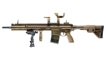 H&K G28 - RAL8000 - Semiauto Softgun