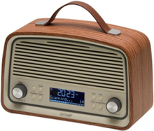 Bærbar radio DAB-38 - DAB portable radio - Brun