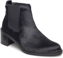Town Chelsea Pony Shoes Boots Ankle Boots Ankle Boots With Heel Svart Royal RepubliQ