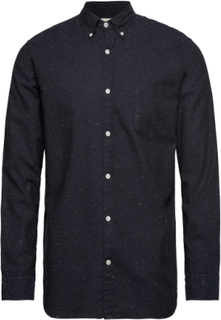 Collect Shirt Ls R C Skjorte Casual Blå Selected Homme