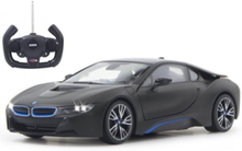 BMW I8 1:14 black door open via RC