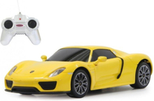 Porsche 918 Spyder 1:24 yellow