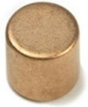 Power magnet, Skive 8x8 mm. (kobber)