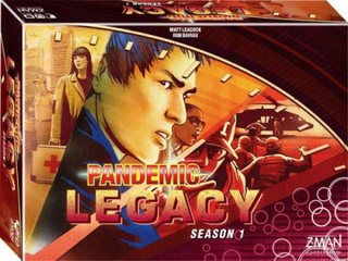 Pandemic Legacy Season 1 (Red Edition)