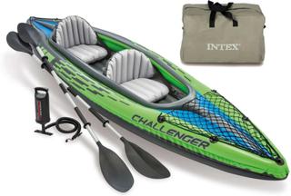 Intex oppustelig kajak Challenger K2 351 x 76 x 38 cm 68306NP