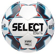 Select Fotball Brillant Super TB V21 Eliteserien - Hvit/Blå