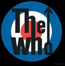 The Who: Single Cork Coaster/Target