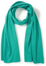 Schal aus Seide und Kaschmir Peter Hahn grün