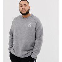 Nike - Jordan Plus - Grå sweatshirt med logga 940170-091 - Grå