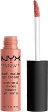 Soft Matte Lip Cream, 8 ml NYX Professional Makeup Läppstift