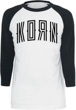 Korn - Korn 98 -Langermet skjorte - hvit, svart