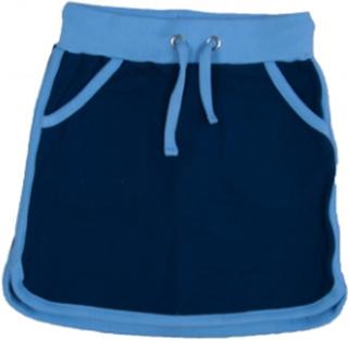Retro running skirt blue (Storlek: 92/98)