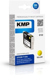 KMP Singlepack E132, Pigmentbasert blekk, Gult, Epson, Epson Stylus Office B 42 WD Epson Stylus Office BX 320 FW Epson Stylus Office BX 525 WD Epson.