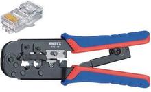 Knipex Pressverktyg för modularkontakter Westernstickproppar RJ11/12 (6-pin) 9.65 mm, RJ45 (8-pin)11.68 mm