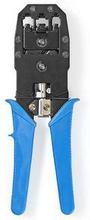 Nedis Crimptång för RJ45 - RJ11 - RJ10 blå