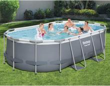Bestway Power Steel fritstående pool 427x250x100 cm oval