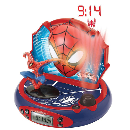 Lexibook Spiderman clockradio (Best.nr. RP500SP)