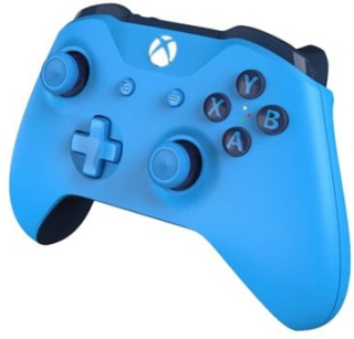 Microsoft Xbox Wireless Controller - Spelkontroll - trådlös - Bluetooth - djupblå - för PC, Microsoft Xbox One, Microsoft Xbox One S, Microsoft Xbox