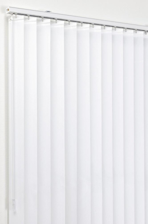 Lamellgardin Vit 200x250 cm