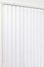 Lamellgardin Vit 100x250 cm