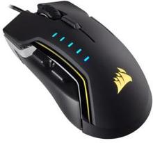 Corsair - Gaming Mouse GLAIVE RGB, 16000dpi, Aluminium