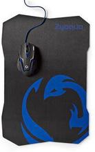 Nedis Set med gaming mus och musmatta | Trådbunden mus | 2400 DPI | 6 knappar