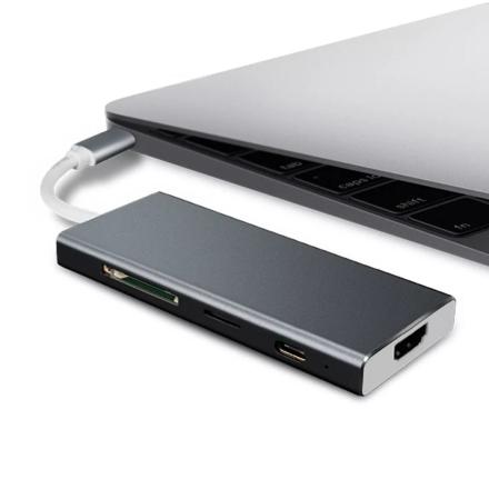 eStore Type-C Hub HDMI 4K med 3 USB-portar