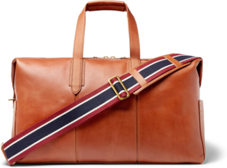 Leather Holdall - Tan