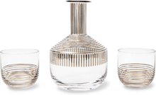 Tank Striped Whisky Set - Gold