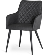 Nova stol Mörkgrå